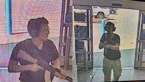 El Paso Walmart shooting cctv
