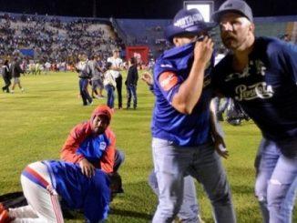 Motagua and Olimpia fan riot