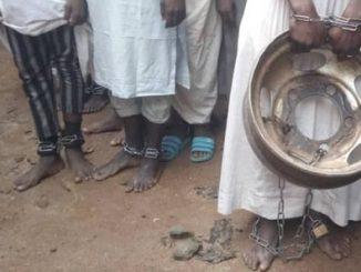 Nigerian torture house captives