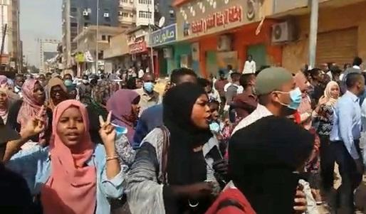 Sudan women protests