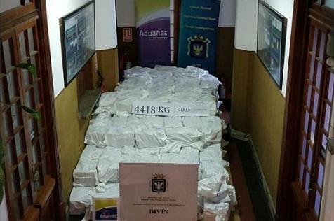 Uruguay cocaine find