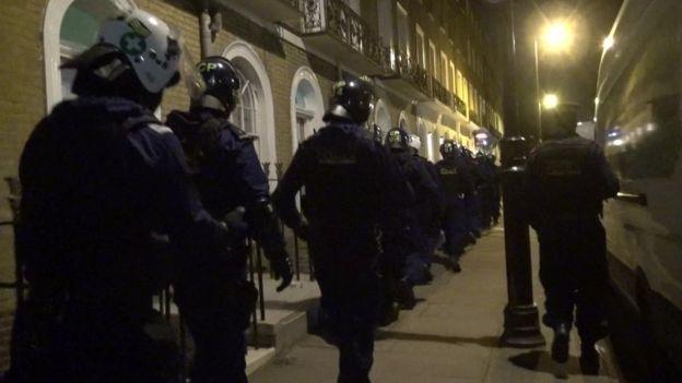 courier fraud police raid