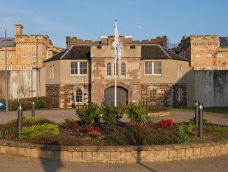 HM Prison Perth entrance (Scotland)