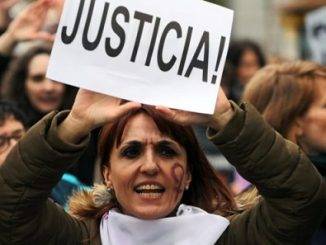 Spain Justice protest