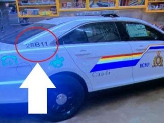 Nova Scotia police car