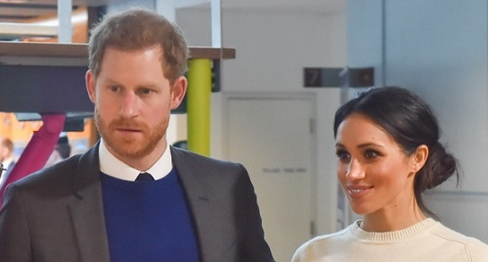 Prince Harry and Meghan Markle visit Catalyst Inc