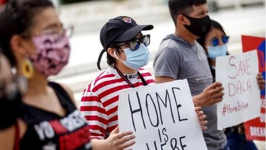 DACA Supreme court protest