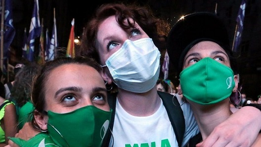 Argentina abortion supporters