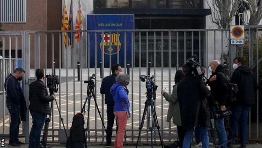 Barcelona football club gates