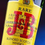 J&B blended scotch whisky