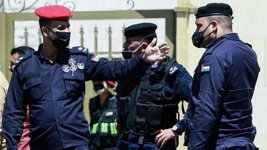 Jordan sedition trial security