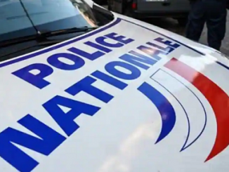 French Police Nationale car