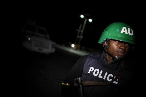 Nigeria police officer
