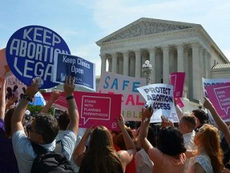 abortion Supreme Court rally