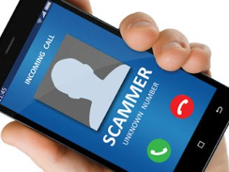 unknown mobile call scammer